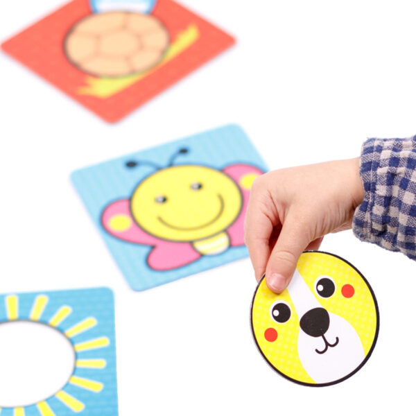 Toddler creative puzzle set - First Shapes Circles 12m+
