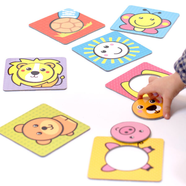 First Shapes Circles 12m+ shapes mix and match activity for toddlers