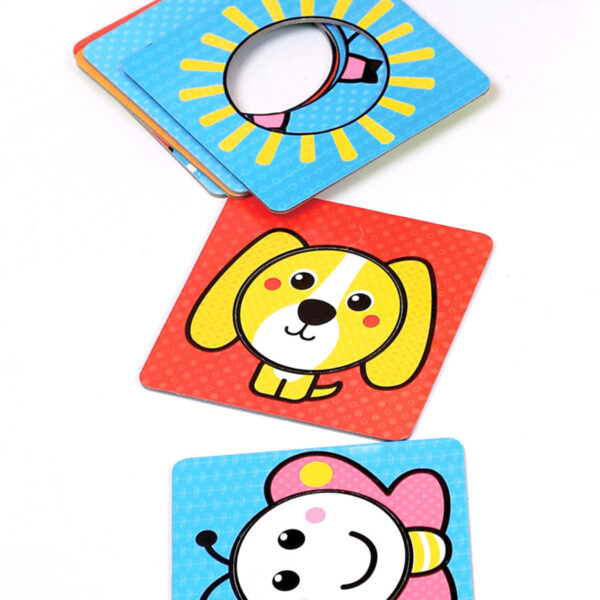 Toddler learning shapes educational puzzle set - First Shapes Circles12m+