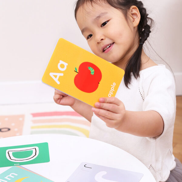 Dry-erase cards for tracing and learning letters - Let's Write and Wipe Letters 3+