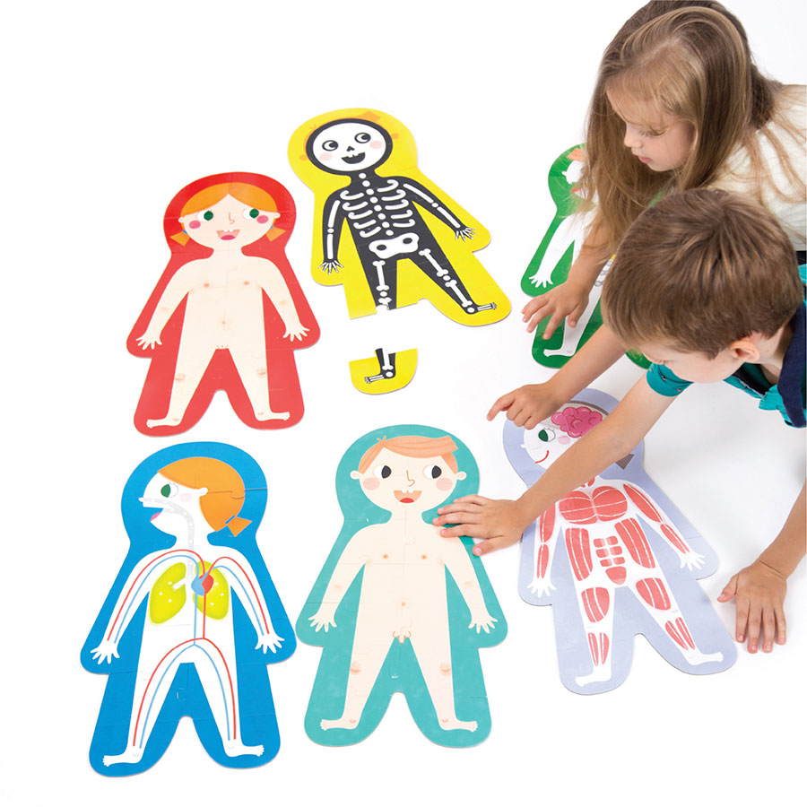 Suuuper Size Puzzles My Body - giant floor puzzles for preschoolers