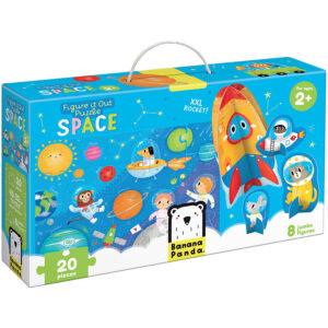 Figure it out puzzle Space - puzzle and play set for toddlers