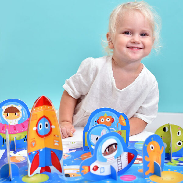 Puzzle and jumbo figures Figure it out puzzle Space