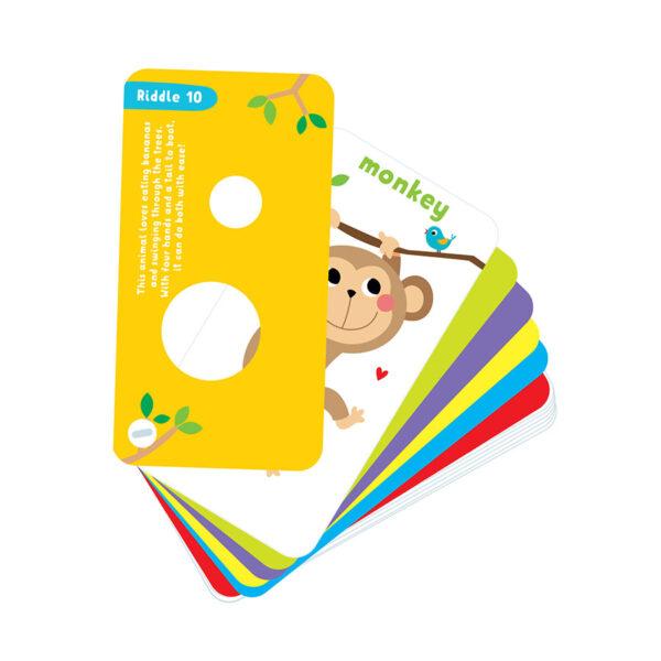 Peek-a-boo Riddles 3 advanced - rhymed riddles for preschoolers