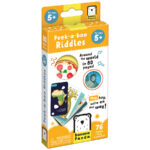 Peek-a-boo Riddles 5+ - picture book with fun riddles for kids 5+