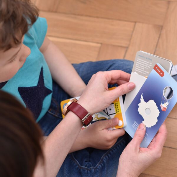 Peek-a-boo Riddles 5+ - fun and easy riddles for kids 5+