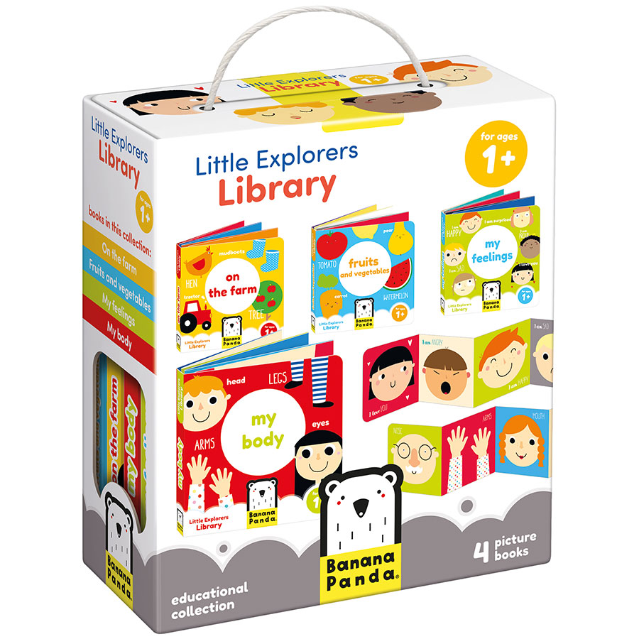 First baby book educational set - Little Explorers Library