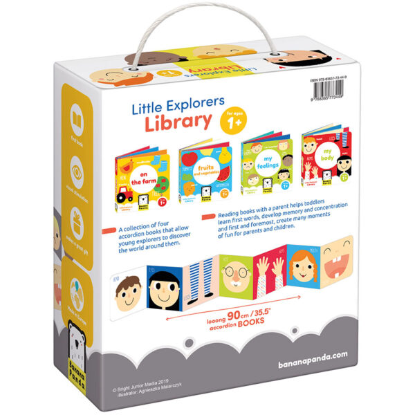 First baby book set - Little Explorers Library
