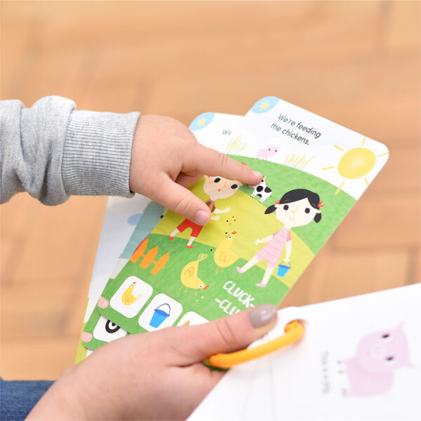 Take-a-look Picture book My Year - first book flash cards for babies