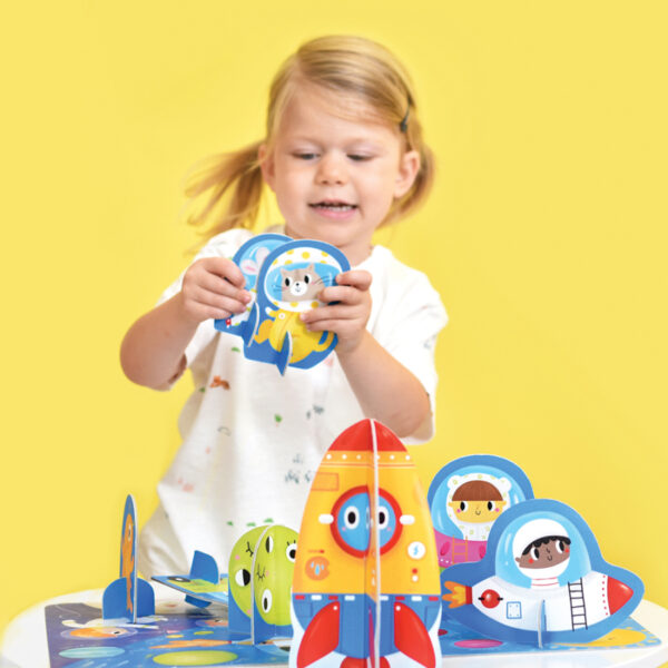 Figure it out puzzle Space - educational puzzle set for toddlers