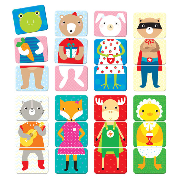 Creative puzzles for toddlers - Mix and Match Animals 18m+