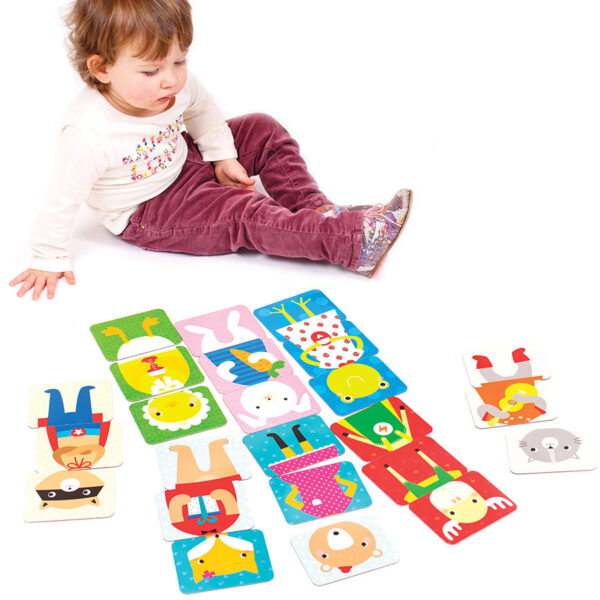 First puzzle for toddlers - Mix and Match Animals 18m+