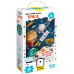 Educational puzzle and poster set - Observation Puzzle Space