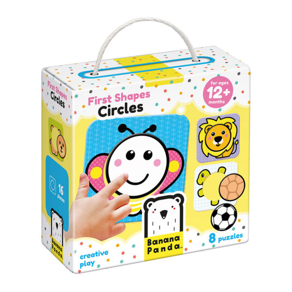 First Shapes Circles 12m+ - first puzzle set for toddlers