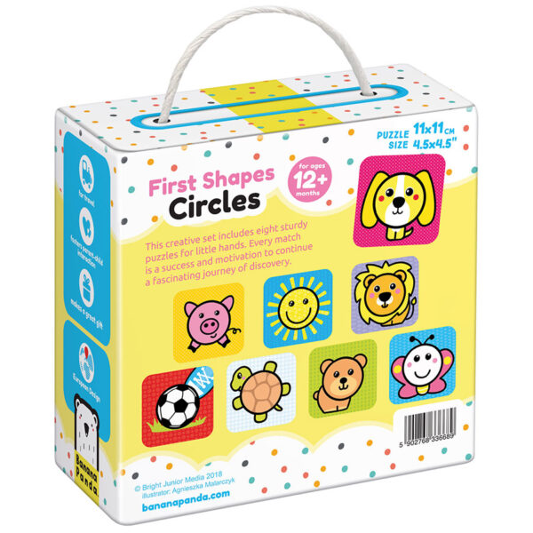 Shapes learning puzzle for toddlers - First Shapes Circles 12m+