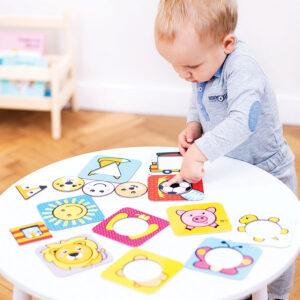 First Shapes Circles 12m+ shapes and colors learning puzzle