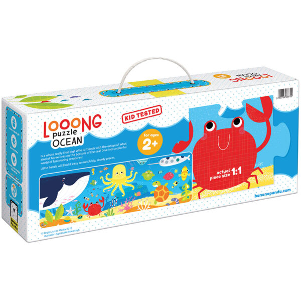Looong Puzzle Ocean - large jigsaw puzzle for kids 2 and up