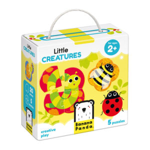 Puzzles to go Little Creatures 2+