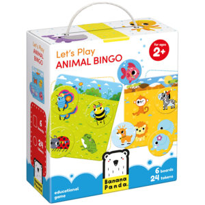 Let's Play Animal Bingo 2+ classic bingo game for toddlers