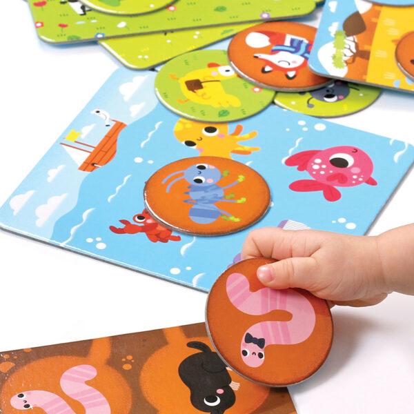Let's Play Animal Bingo 2+ - animal matching game for toddlers