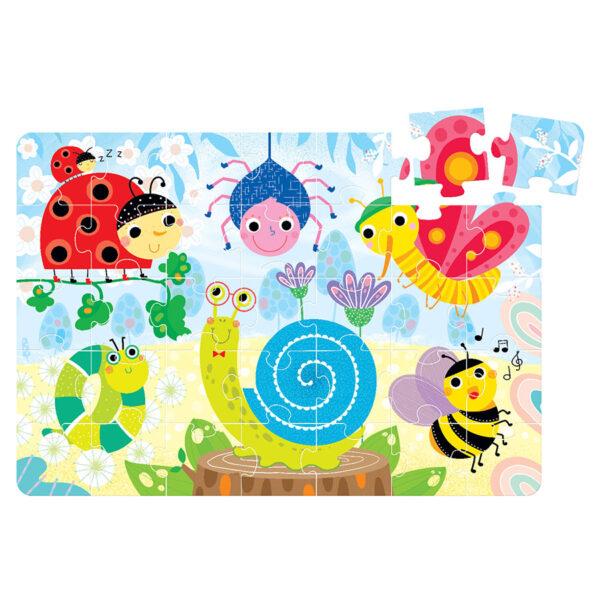 Suuuper Size Puzzle Little Creatures - jigsaw puzzle for kids 2+