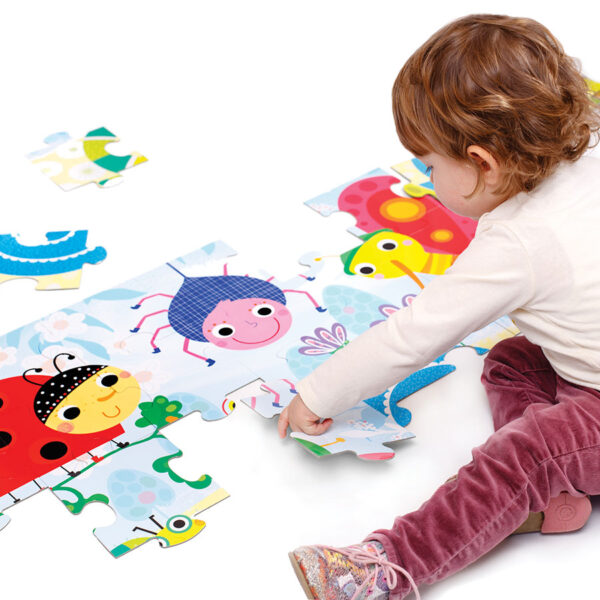 Meadow jigsaw puzzle for kids 2+ - Suuuper Size Puzzle Little Creatures