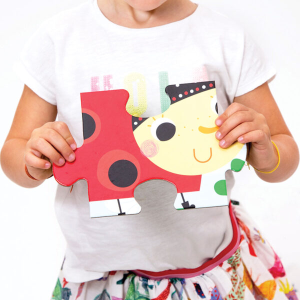 Jumbo puzzle for kids 2+ Suuuper Size Puzzle Little Creatures