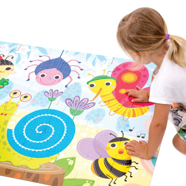 Suuuper Size Puzzle Little Creatures - giant floor puzzle for toddlers