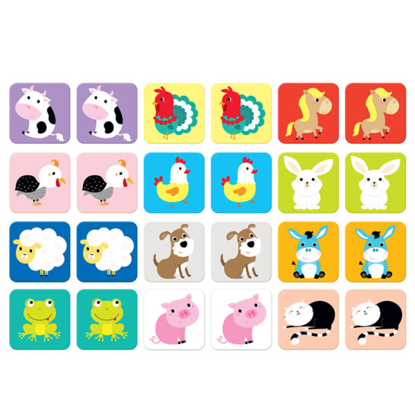 Suuuper Size Memory Game - classic memory matching game for toddlers