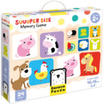 Suuuper Size Memory Game - matching game memory for toddlers