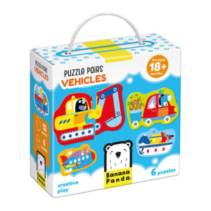 First puzzle vehicles for kids 18m+ - Puzzle Pairs Vehicles 18m+