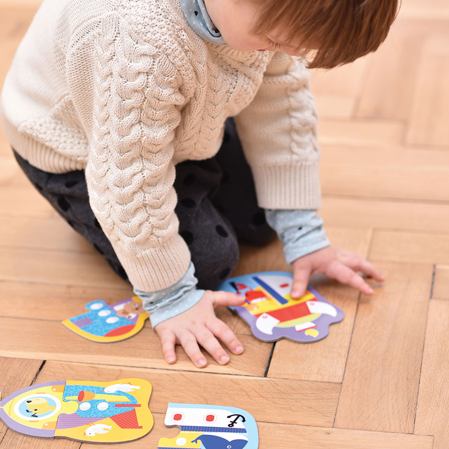 Vehicles first puzzles for toddlers - Puzzle Pairs Vehicles 18m+
