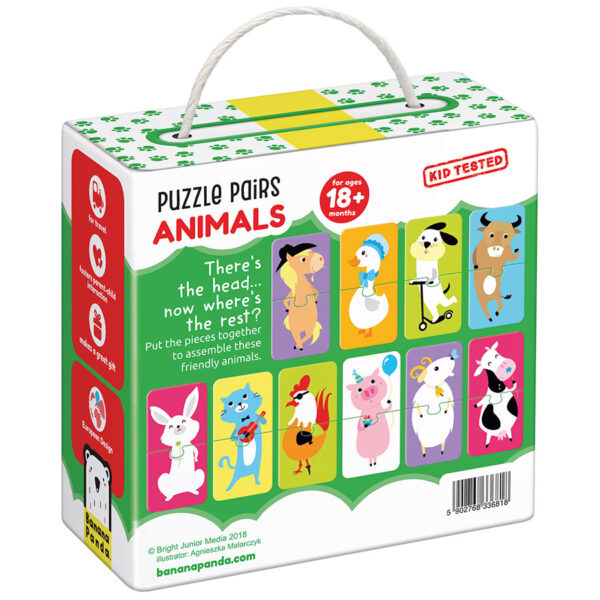 Pair Puzzles Animals - Puzzle Pairs Animals 18m+