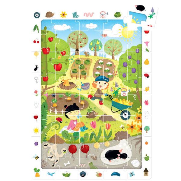 Garden jigsaw puzzle - Observation Puzzle Garden