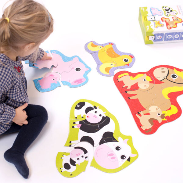 First puzzles animals set - Hands at Play Farm Animals 2+