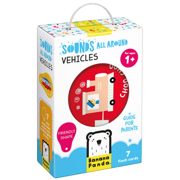 Vehicles flash cards - Sounds All Around Vehicles