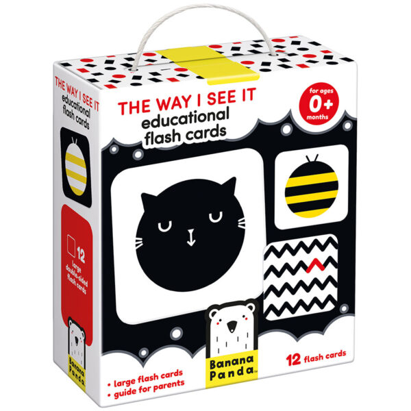 Educational contrast cards - The Way I See It Educational Flash Cards