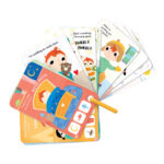 Take-a-look Picture Book My Day - picture book about daily routine