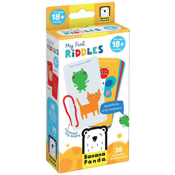 My First Riddles 18m+ - picture riddles and answers for kids 18m+