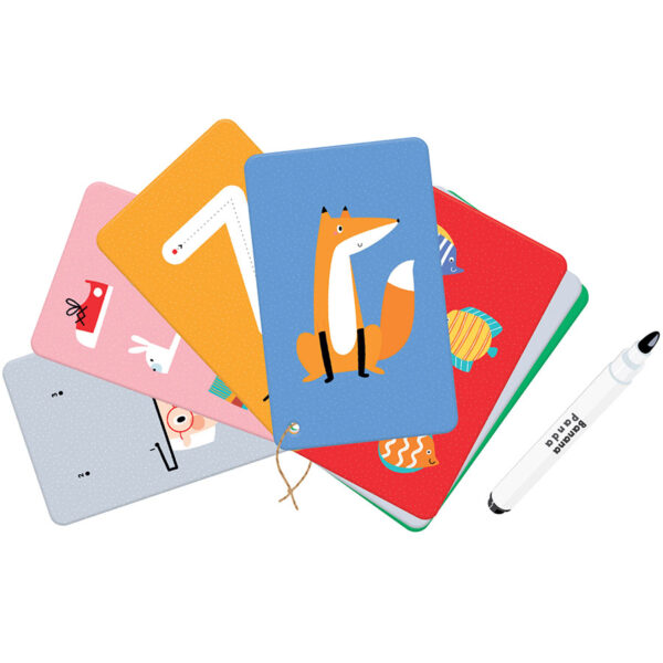 Numbers wipe-clean activity cards - Let's Write and Wipe Numbers 3+