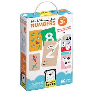 Let's Write and Wipe Numbers 3+ - write and wipe learning numbers cards