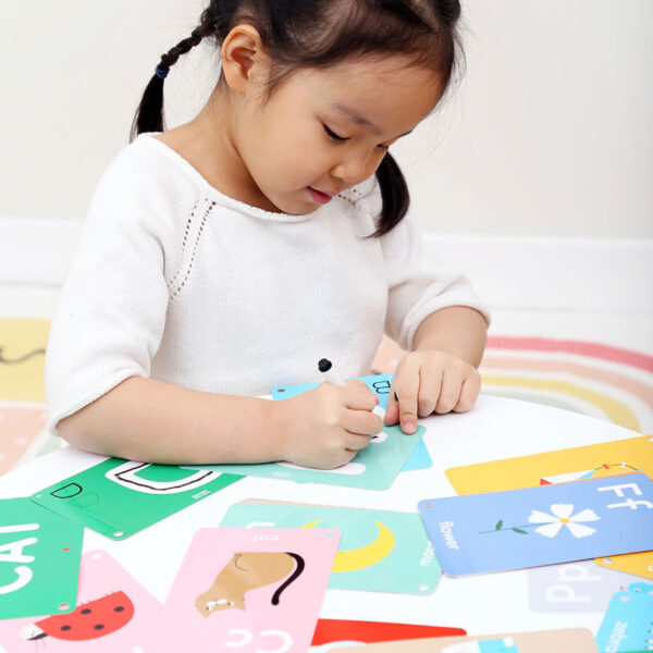 Let's Write and Wipe Letters 3+ - dry erase activity cards