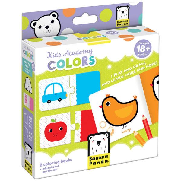 Kids Academy Colors 18m+ toddler activity set