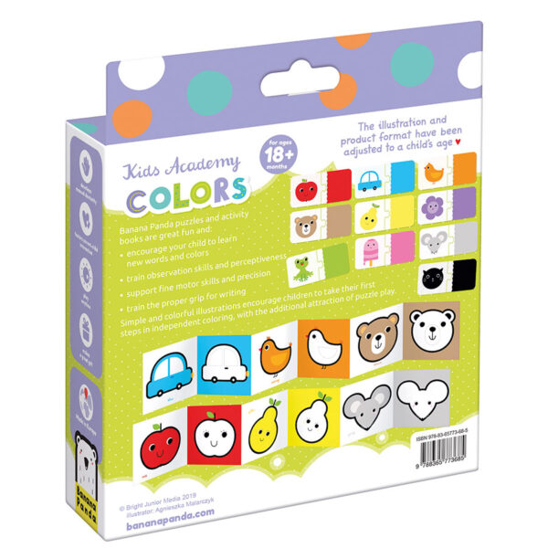Kids Academy Colors 18m+ learning colors toddler educational set