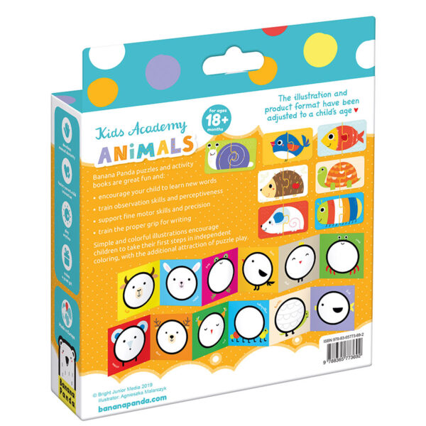 Kids Academy Animals 18m+ toddler educational set