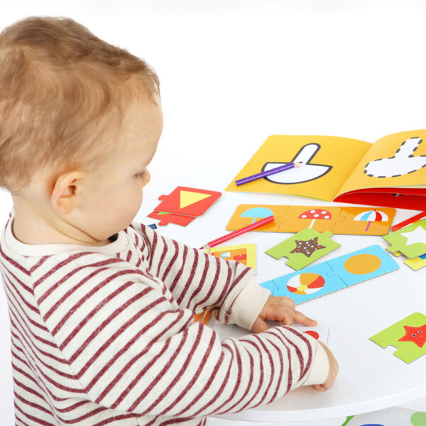Kids Academy Shapes 2+ toddler activity set