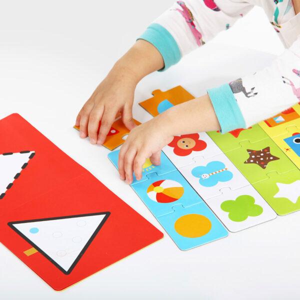 Kids Academy Shapes 2+ toddler educational set