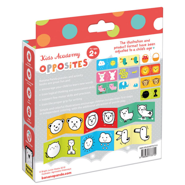 Kids Academy Opposites 2+ activity set