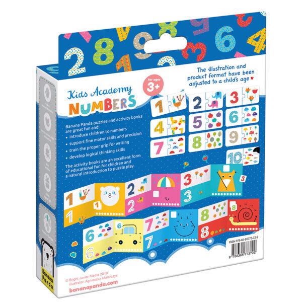 Kids Academy Numbers 3+ - learning numbers preschool educational set
