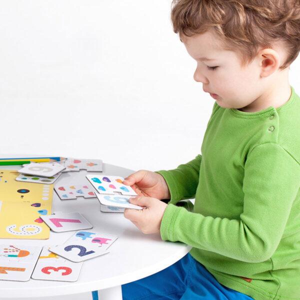 Kids Academy Numbers 3+ preschooler activity set